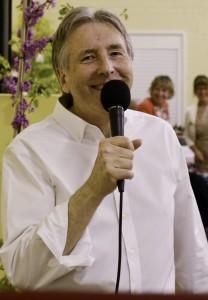 James McCafferty calling a barn dance