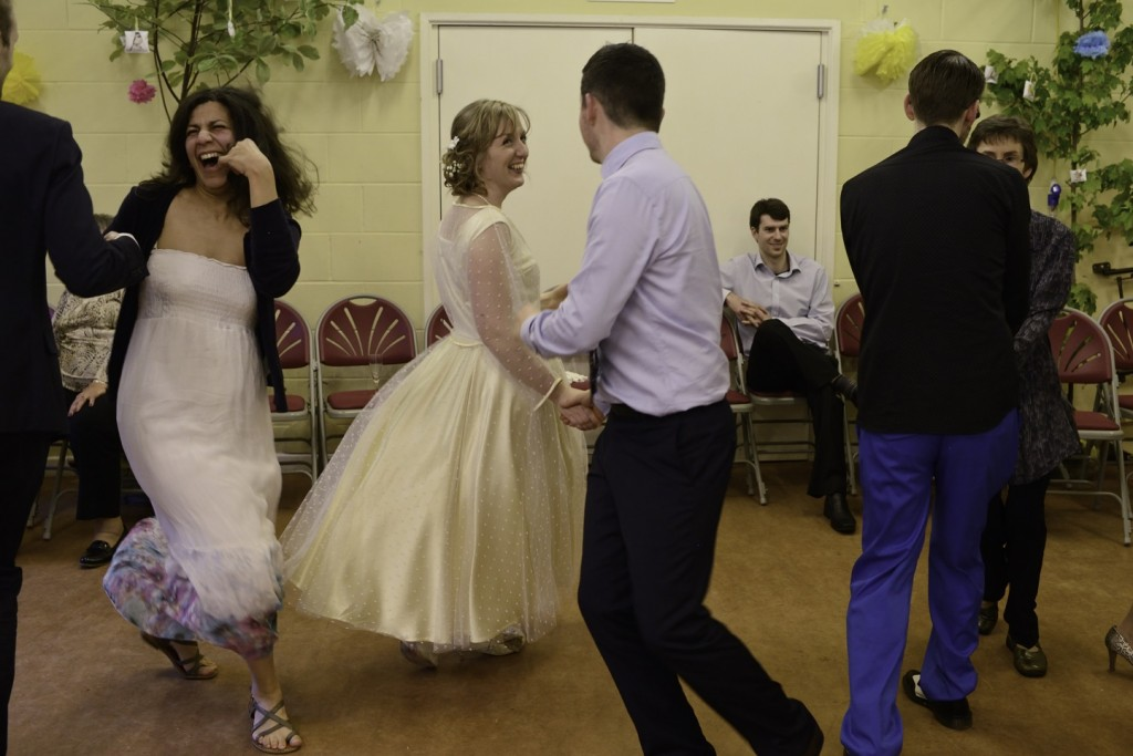 Wedding barn dance